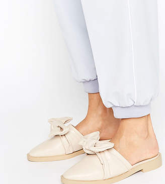 The March Knot Flat Mules