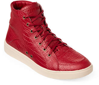 Diesel Red Fashionisto Groove High-Top Sneakers