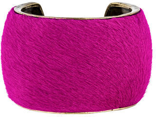 Isabel MarantIsabel Marant Ponyhair Cuff Bracelet