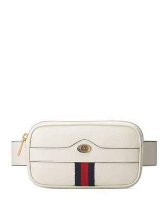 e6b3e1a1a94949 Gucci Ophidia Leather Belt Bag