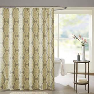 Madison Park Luna Cotton Shower Curtain