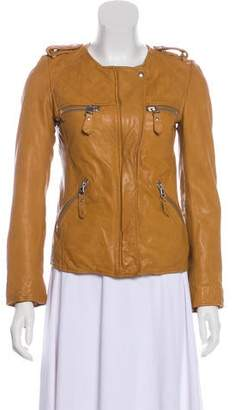 Etoile Isabel Marant Quilted Leather Jacket