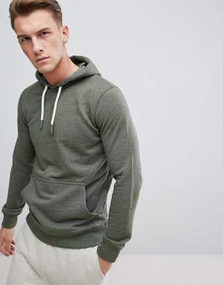 Esprit Hoodie In Khaki With Chunky Drawcord