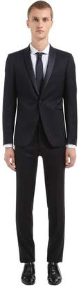 Tagliatore Super 110's Wool Tuxedo Suit