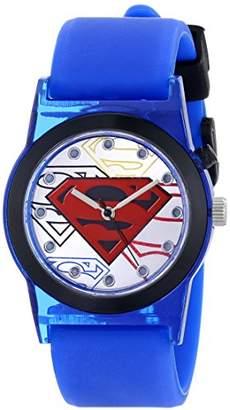 Superman Kids' SUP9119 Analog Display Analog Quartz Blue Watch