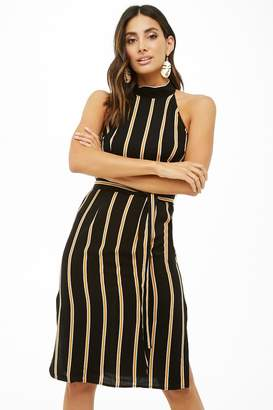 Forever 21 Striped Midi Dress