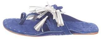 Figue Scaramouche Suede Sandals w/ Tags