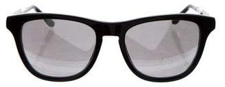 Stella McCartney Mirrored Square Sunglasses
