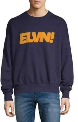 Eleven Paris Sandy Graphic Cotton Sweater