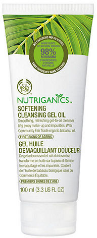 The Body Shop Nutriganics Softening Cleansing Gel 3.38 fl oz (100 ml)