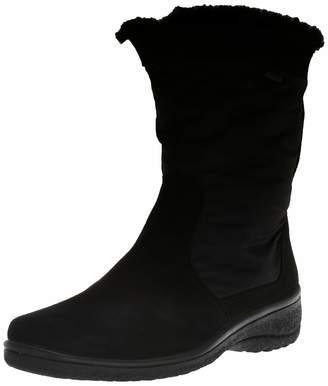 ara Women's Misty Mid Calf Boot 5.5 Wide UK (8 US)