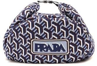 Prada Jacquard trapper hat