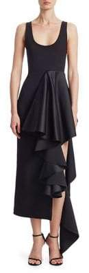 SOLACE London Naya Ruffle Dress