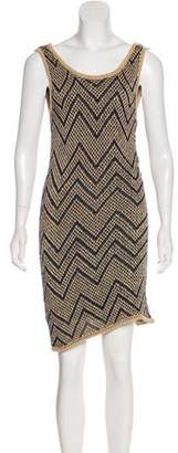 Rag & Bone Chevron Midi Dress