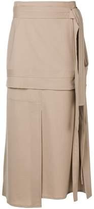 3.1 Phillip Lim panelled midi skirt