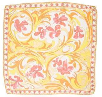 Emilio Pucci Printed Sheer Scarf