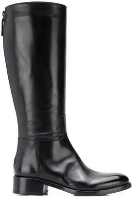 Vittorio Virgili rear zip boots