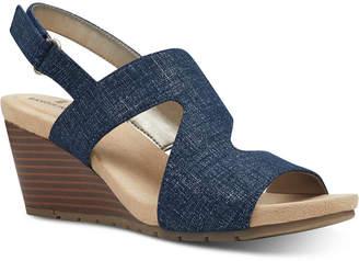 Bandolino Gannet Wedge Sandals Women Shoes