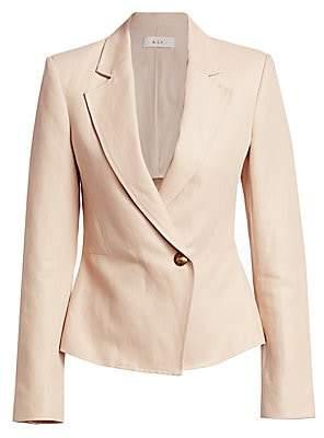 A.L.C. (エーエルシー) - A.L.C. Women's Fremont Linen Blend Blazer - Size 0
