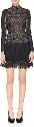 Jonathan Simkhai Guipure Longsleeve Lace Dress