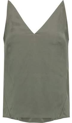 J Brand Brushed-Silk Camisole