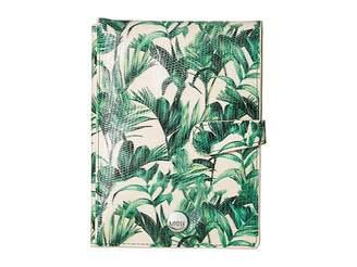 Lodis Palm Kimmy Passport Wallet w/ Ticket Flap