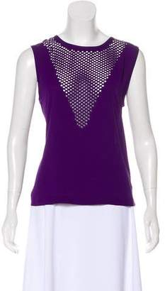 Trina Turk Sleeveless Laser Cut Top w/ Tags