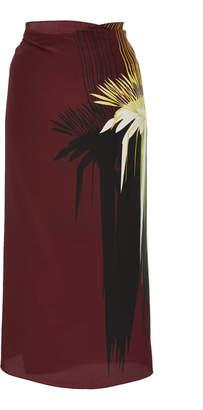 Lenny Niemeyer Printed Silk-Chiffon Sarong