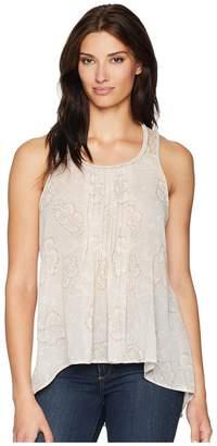 Cruel Printed Polyester Chiffon Tank Top Women's Sleeveless
