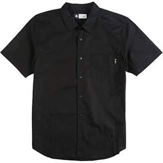 Lrg Men's Higher Elevation Short Sleeve Woven Shirt