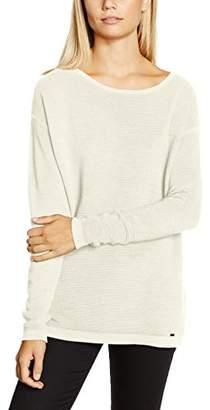 More & More Women's 61991540 Long Sleeve Jumper - White