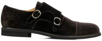 Steve's velvet derby shoes
