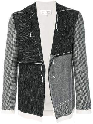 Maison Margiela panelled cardi-jacket