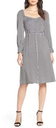 Ali & Jay Take Me Downtown Stripe Dress