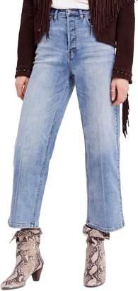 Free People Wales Wide Leg Crop Jeans