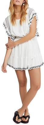 Free People Weekend Brunch Embroidered Dress