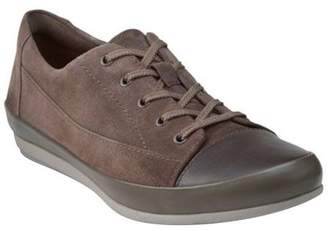 Clarks Leather Lace-up Sneakers - Lorry Grace
