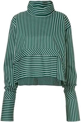 Anouki striped oversized blouse
