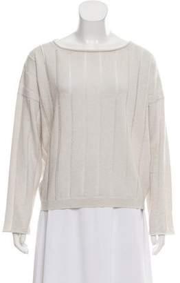 Fabiana Filippi Bateau Neck Cashmere Sweater
