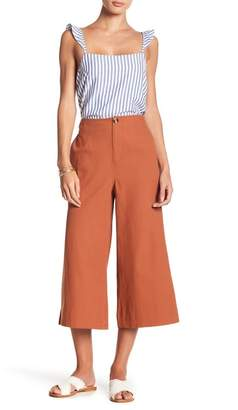 GOOD LUCK GEM High Waist Wide Leg Pants