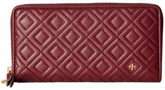 Tory Burch Fleming Zip Continental Wallet Bill-fold Wallet