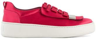Sergio Rossi bow embellished sneakers