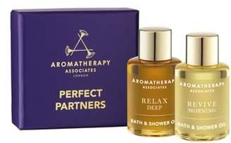 Aromatherapy Associates Perfect Partners Bath & Shower Oil Duo