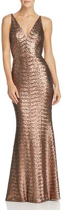 Dress the Population Harper Sequined Gown