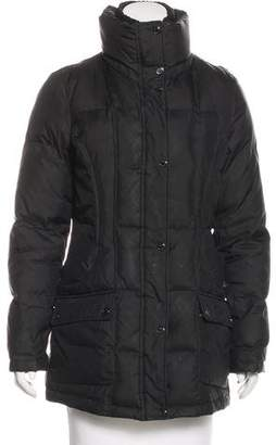 Calvin Klein Knit-Trimmed Down Jacket