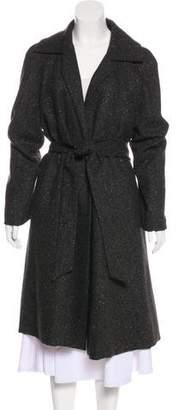 Akris Reversible Cashmere & Wool Long Coat