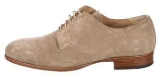 Alexander McQueen Suede Derby Shoes