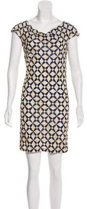 Balenciaga Printed Knee-Length Dress