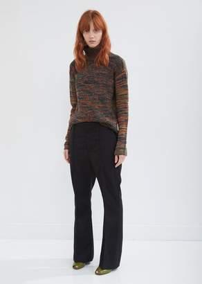 Marni Tropical Wool Flared Trousers