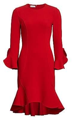 Michael Kors Women's Flounce Midi Dress - Size 0